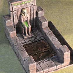 Egyptian-Statue-Trap